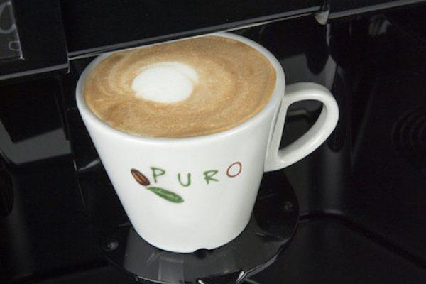 Puro Maestro Bianchi Vending machine with powdered milk