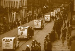 Miko - 200 years of experience in coffee roasting - parade