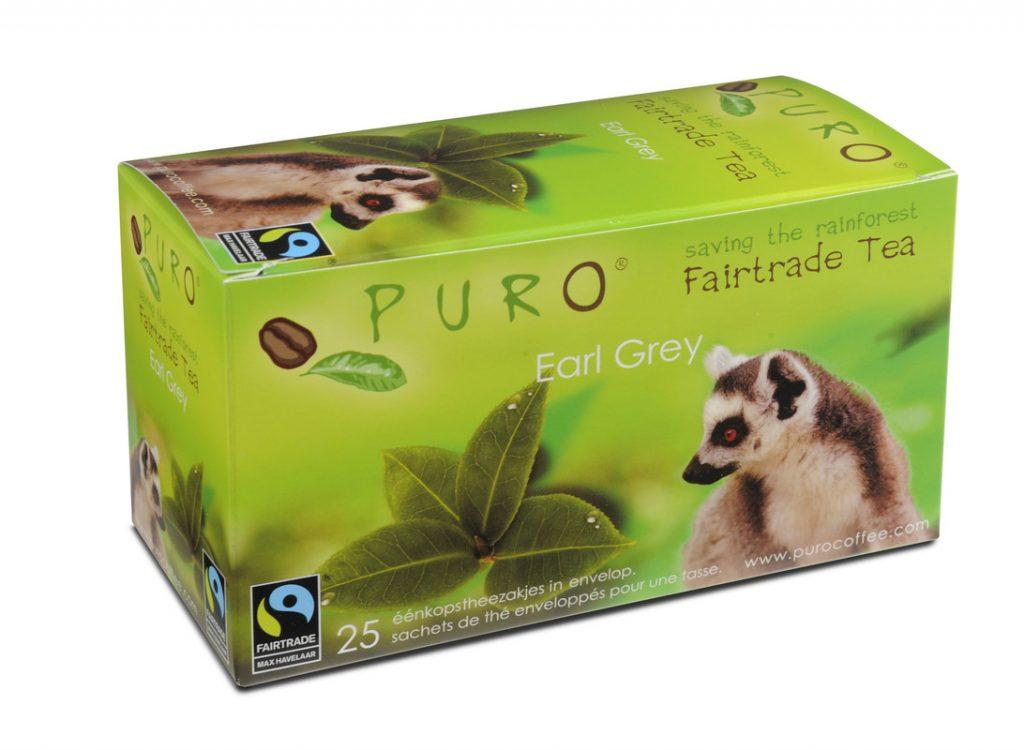 PURO fair trade earl grey teabags x 25
