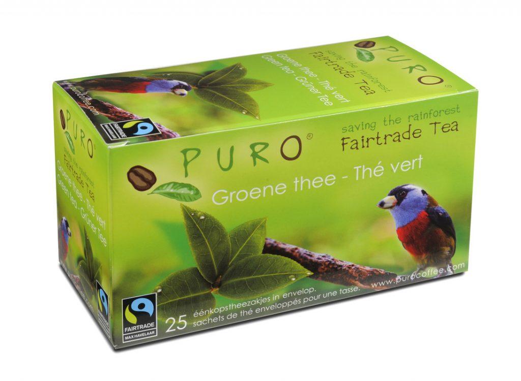PURO green tea bags x 25