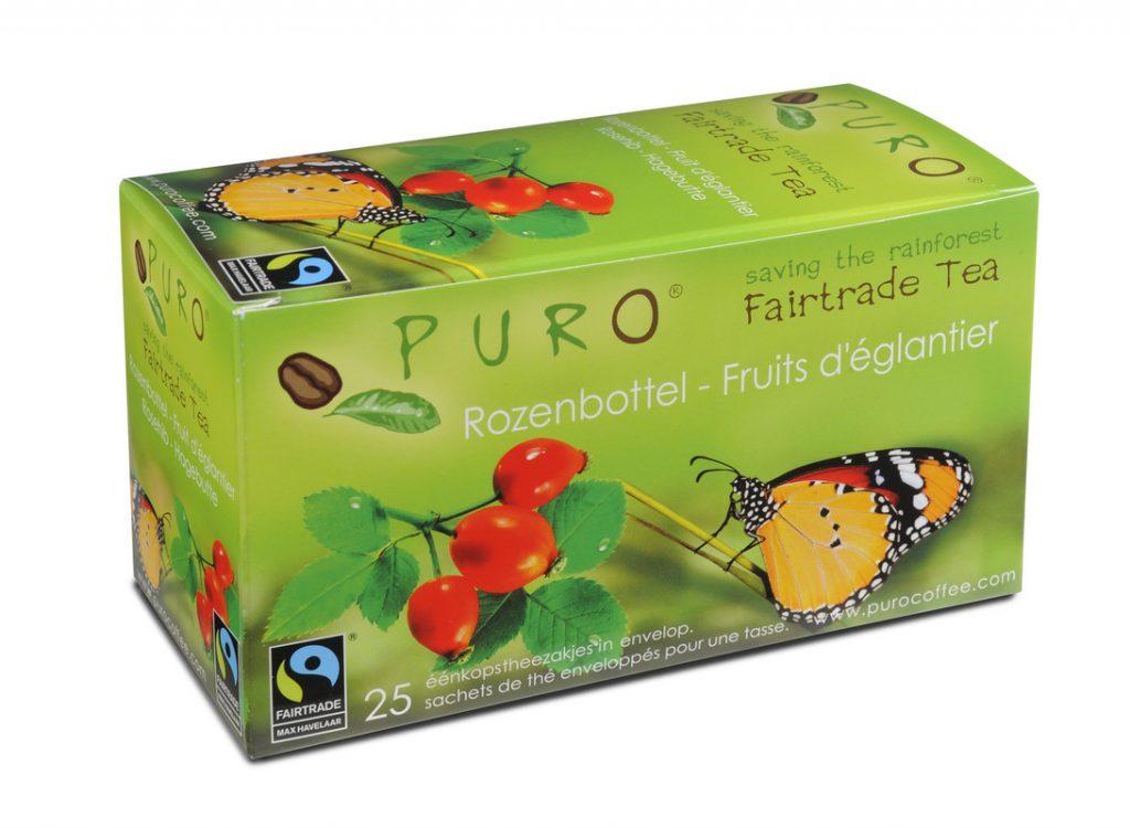 PURO fair trade fruit tea bags x 25